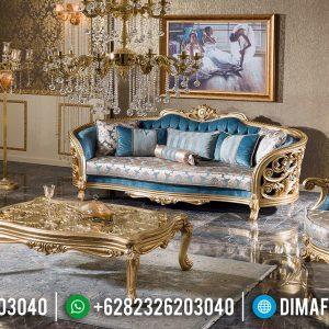 New Sofa Tamu Mewah Renaissance Ukiran Luxury Classic Jepara TTJ-0707