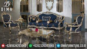 Set Sofa Tamu Mewah Davinci Desain Luxury Carving Furniture Jepara Terbaru TTJ-0712