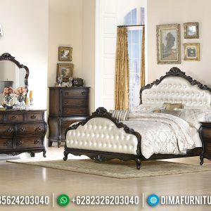Tempat Tidur Mewah Ashley Luxury Carving Furniture Jepara Best Classic Style TTJ-0762