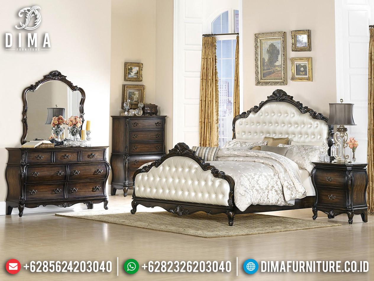 Tempat Tidur Mewah Ashley Luxury Carving Furniture Jepara Best Classic Style TTJ-0762