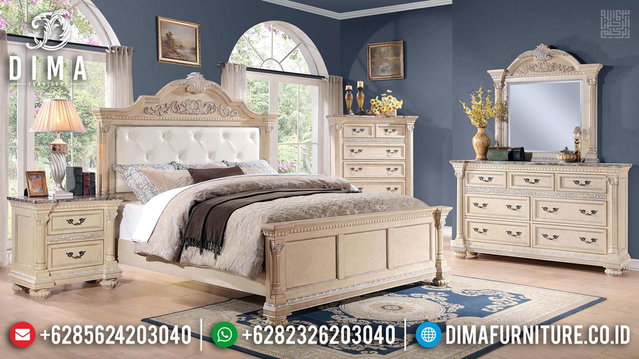 Tempat Tidur Mewah Jepara Renaissance Luxurious Classic Carving TTJ-0679