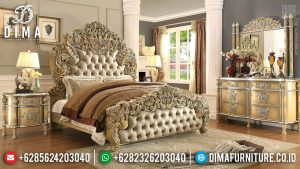 Tempat Tidur Mewah Ukiran Klasik Luxury Royals Great Quality TTJ-0676