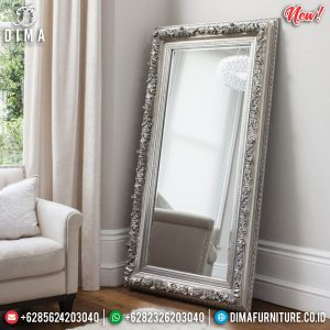 Cermin Hias Ukiran Luxury Classic New Model Furniture Jepara TTJ-0857