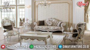 Free Ongkir Sofa Tamu Mewah Jepara Luxury Carving Jepara New Model Classic Furniture TTJ-0801