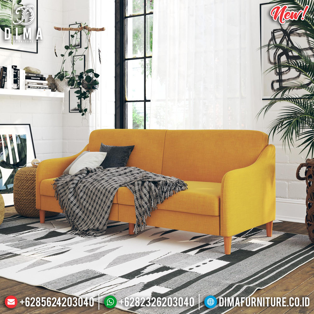 Harga Sofa Minimalis Vintage Epic Design Furniture Jepara TTJ-0854