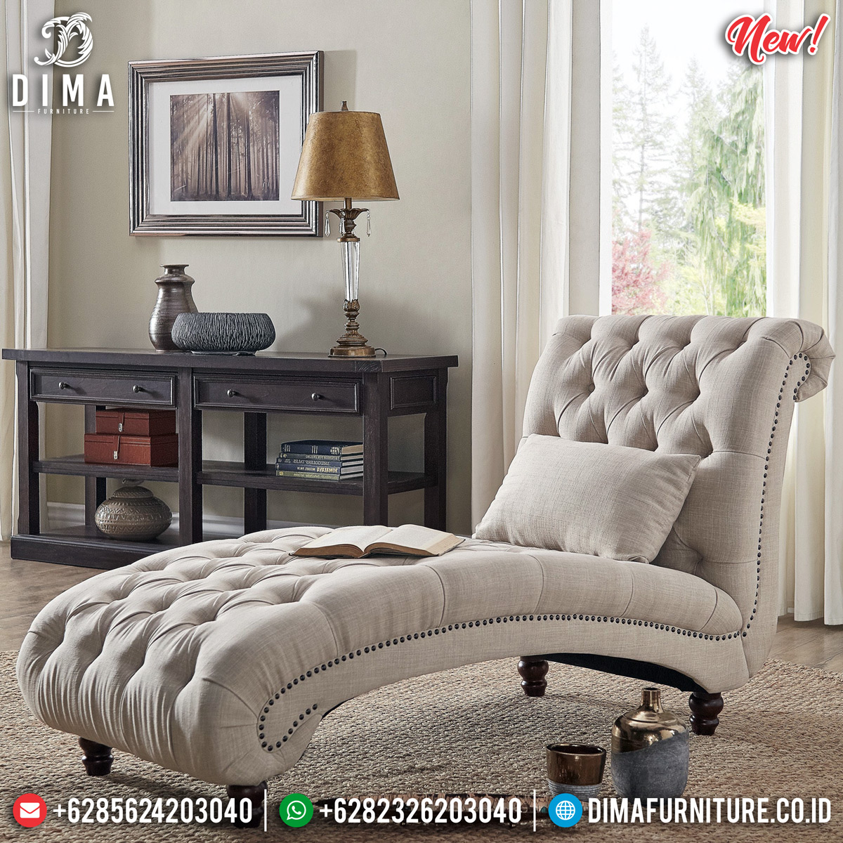 Harga Sofa Santai Minimalis Luxury Best Quality Venezia Model TTJ-0810