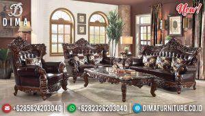 Italian Carving Sofa Tamu Mewah Jepara Luxury Furniture Big Sale TTJ-0804