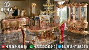 Jual Meja Makan Mewah Ukiran Klasik Luxury Desain Royals Superior Furniture TTJ-0771
