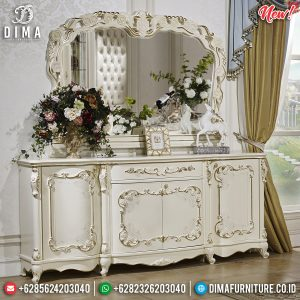 Jual Meja Rias Mewah Luxury Carving Jepara New Normal Version TTJ-0826