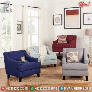 Jual Sofa Minimalis Single Seat Cantik, Kursi Sofa Minimalis New Inspiring TTJ-0814