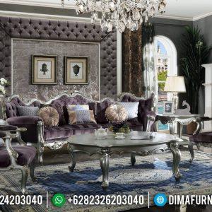 Koltuk Turkey Sofa Tamu Ukiran Jepara Luxury Classic Best Seller Furniture TTJ-0806