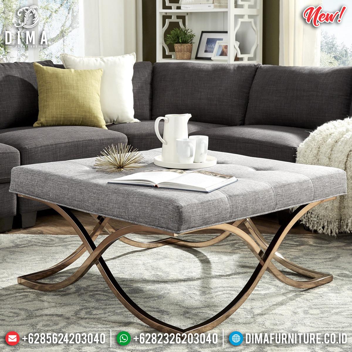 Meja Tamu Minimalis Modern, Coffe Table Luxury Beautiful Design TTJ-0829