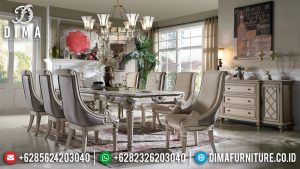 New Set Meja Makan Mewah Klasik Luxury Kualitas Terbaik TTJ-0770