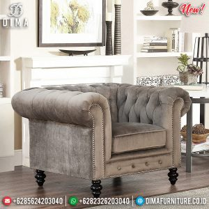 New Sofa Minimalis Modern Single Seater Luxury Furniture Jepara TTJ-0852