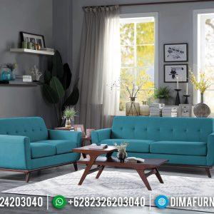Set Sofa Tamu Minimalis Jepara Absolute Retro Classic Natural Jati TTJ-0843