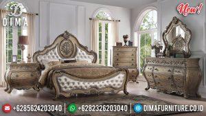 Best Seller Tempat Tidur Ukiran Jepara Luxury Classic New Type Furniture Jepara TTJ-0958