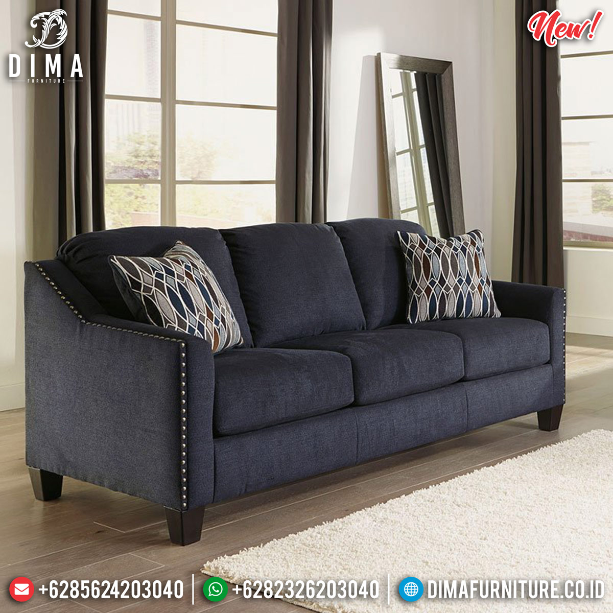 Furniture Jepara Sofa Tamu Minimalis Royals Foam Best Seller Product TTJ-0903
