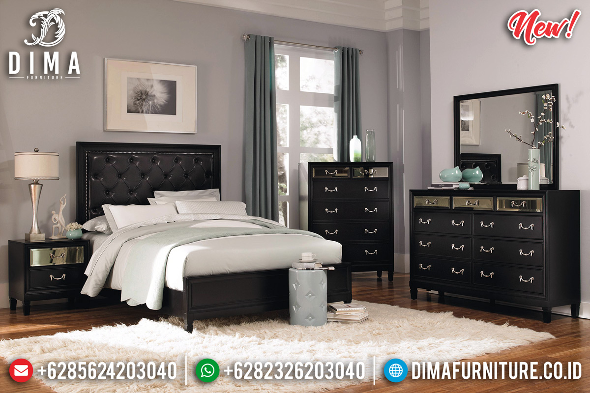 Harga Kamar Set Minimalis Jepara New Beautiful Design Elegant Luxury TTJ-0924