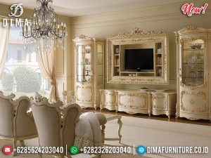 Jual Bufet TV Ukiran Jepara Mewah Royals Luxury Design New Product Mebel Jepara TTJ-0974
