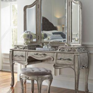 Jual Meja Rias Minimalis Klasik Vintage Luxury New Design 2020 TTJ-0939