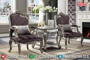 Jual Sofa Santai Mewah Murah Luxury Furniture Jepara Great Solid Wood TTJ-0942