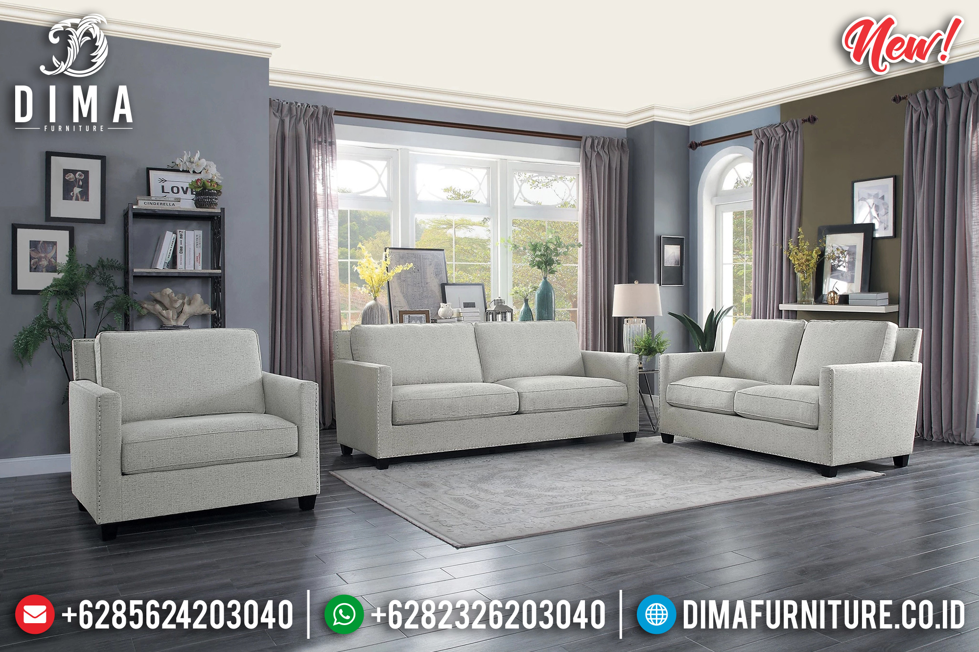 New Desain Sofa Tamu Minimalis Beautiful Design Interior Inspiring TTJ-0906