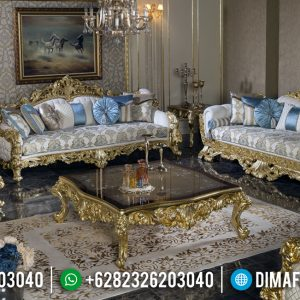 New Model Sofa Tamu Jepara Mewah Ukiran Luxury Emperial Rome TTJ-0933
