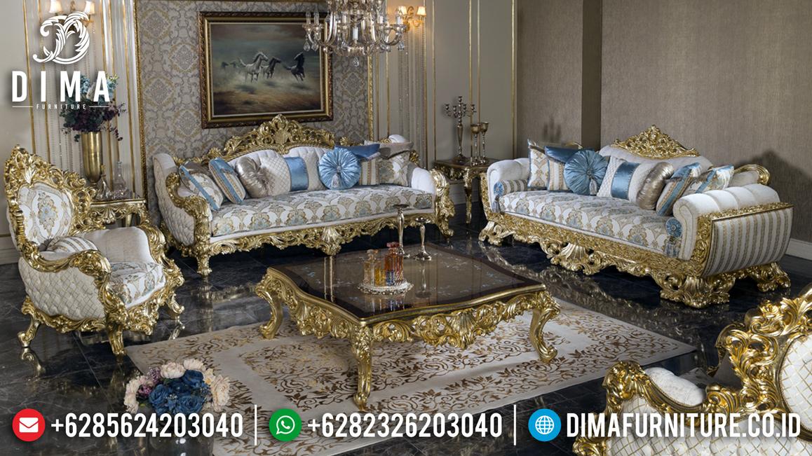 New Model Sofa Tamu Jepara Mewah Ukiran Luxury Emperial Rome TTJ-0933