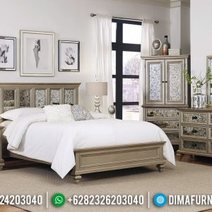 Set Tempat Tidur Modern Elegant Luxury Beautidul Design New Furniture Jepara TTJ-0915