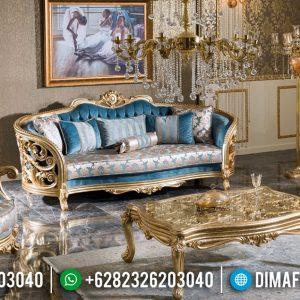 Sofa Tamu Mewah Charlotte Ukiran Luxury New Mebel Jepara Produk TTJ-0934