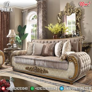 Sofa Tamu Mewah Luxury Ukiran Classic Mebel Jepara New Product TTJ-0909