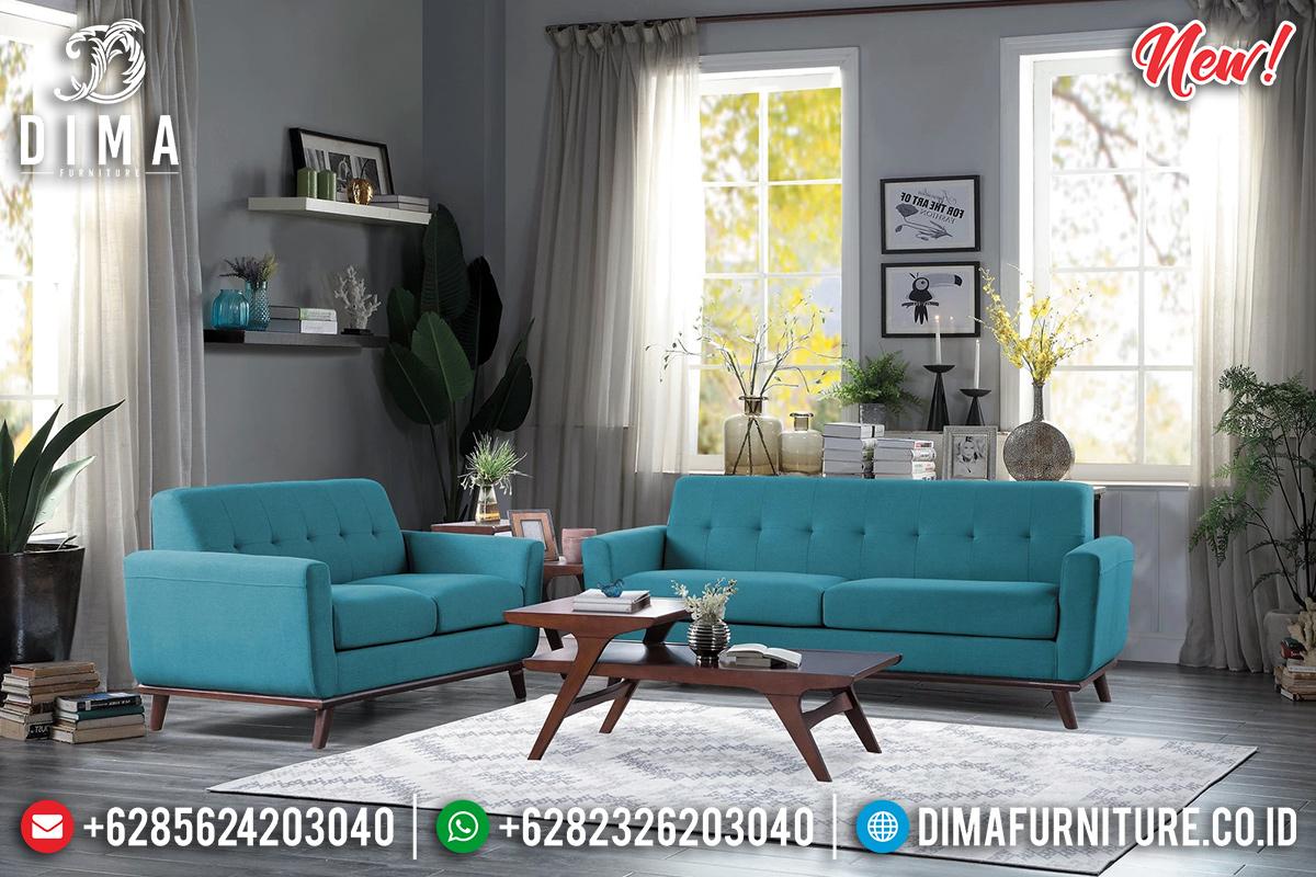 Sofa Tamu Minimalis Jati Classic Vintage Natural Best Seller Furniture Jepara TTJ-0943