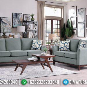 Sofa Tamu Minimalis Jati Natural Harga Terjangkau Best Seller TTJ-0910