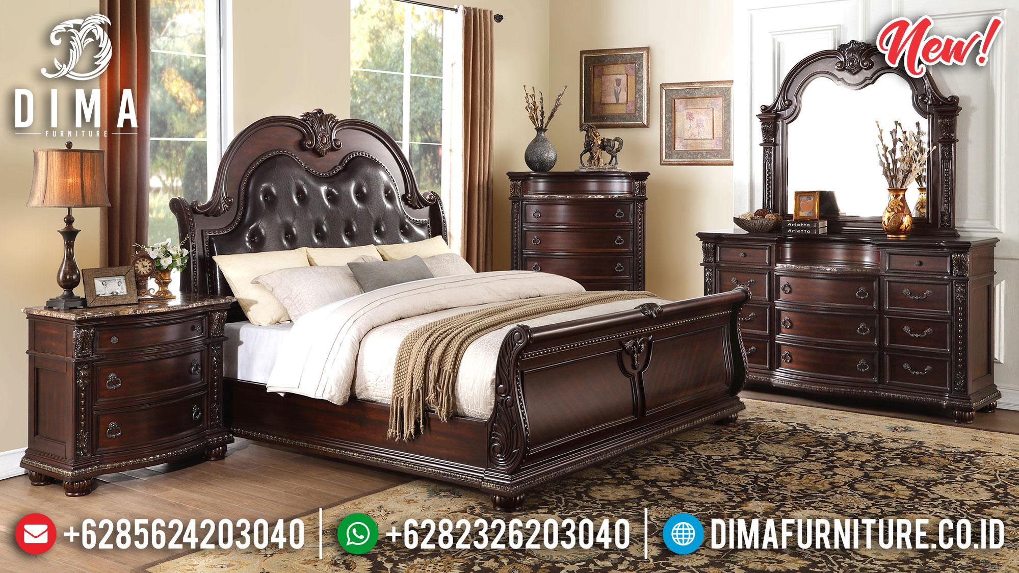 New Sale Dipan Kamar Set Jepara Jati Fabulous TTJ-0979