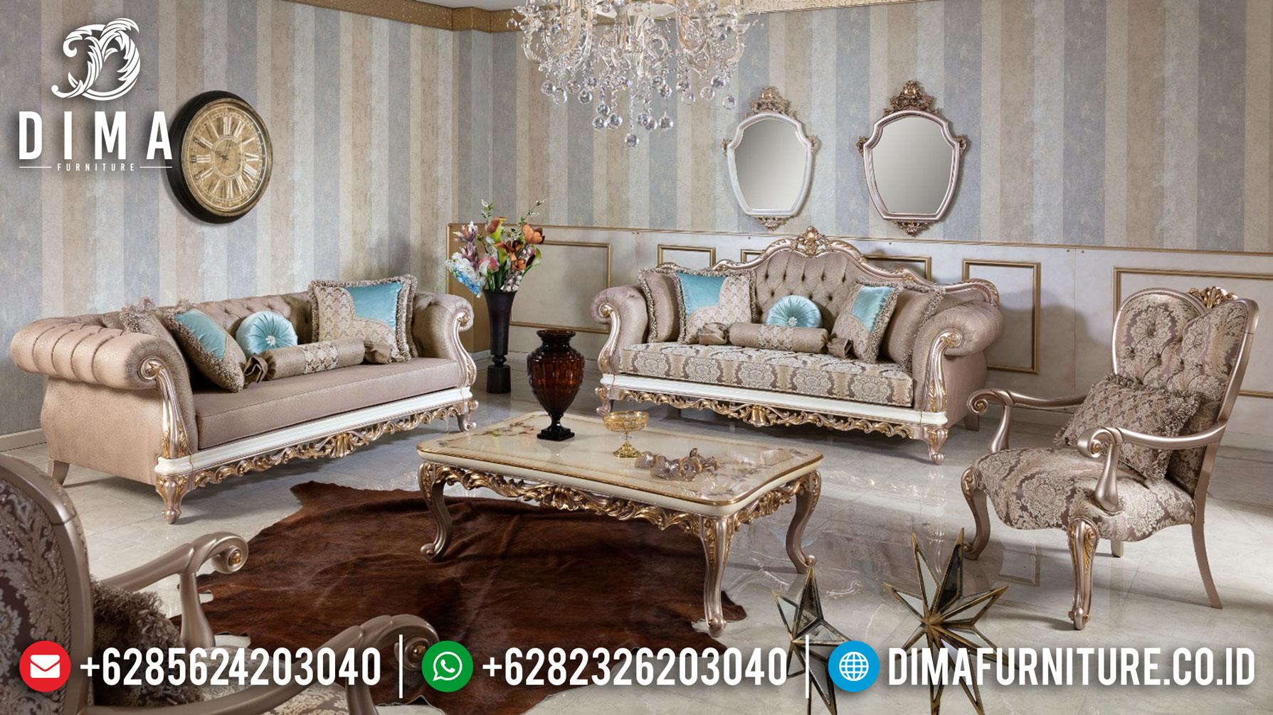 Bellavita Sofa Tamu Mewah Jepara Duco Glossy Color Luxury Style Pre Sale TTJ-1042