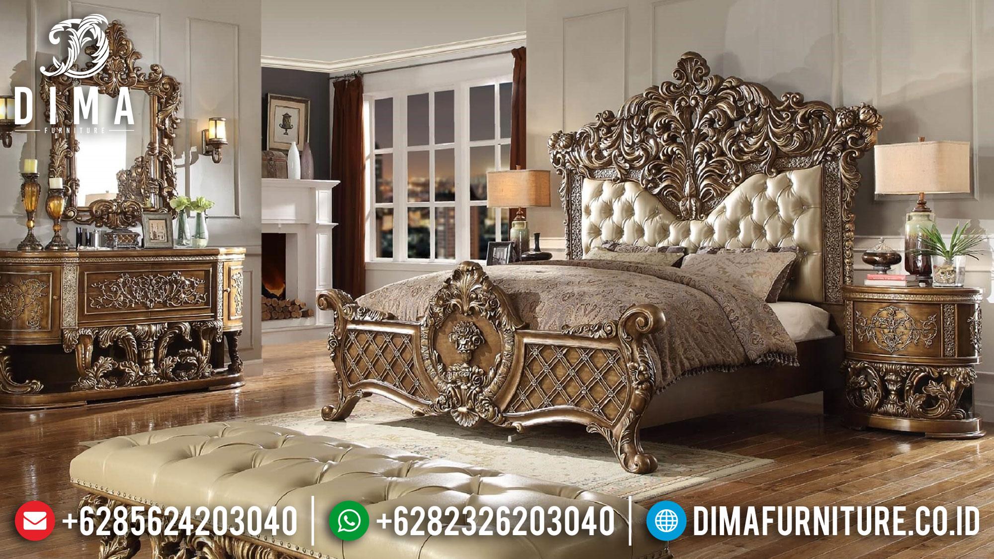 Deluxe Kamar Set Mewah Ukiran Classic Luxury Italian Baroque TTJ-1107