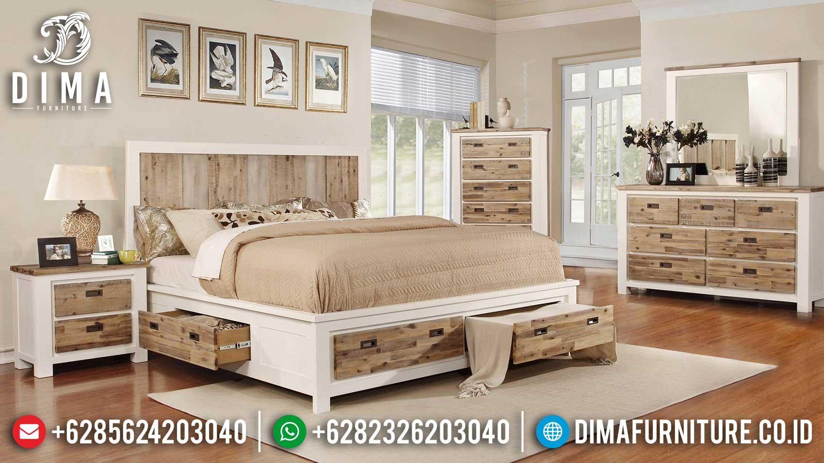 Elegant Room Tempat Tidur Minimalis Modern Design Mebel Jepara Terbaru TTJ-1127