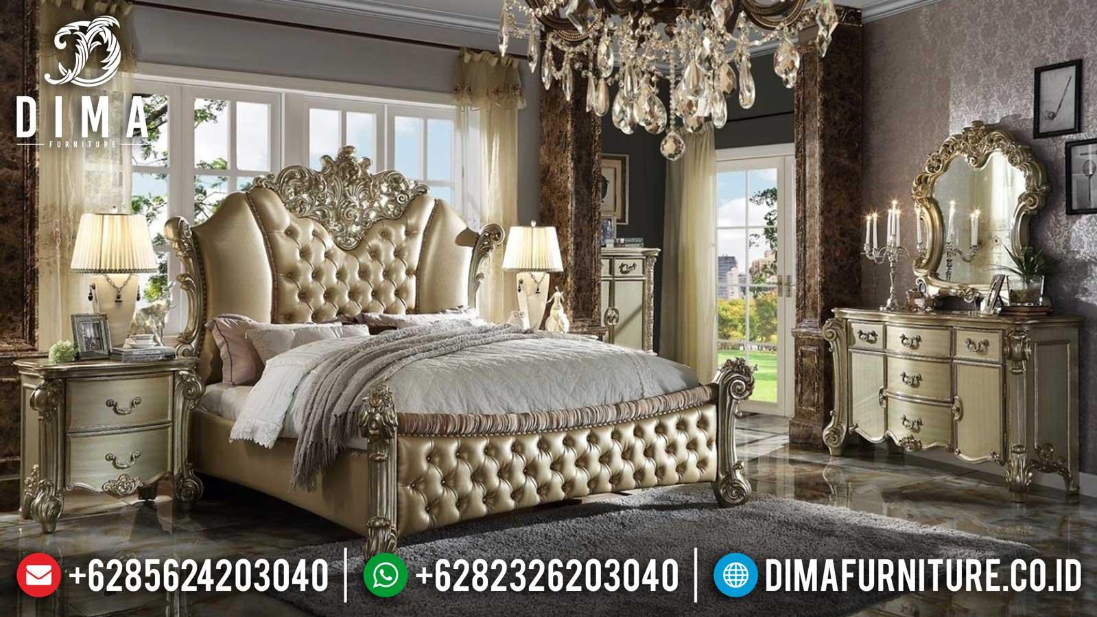 Elite Class Tempat Tidur Mewah Ukiran Luxury Classic Furniture Jepara TTJ-1138