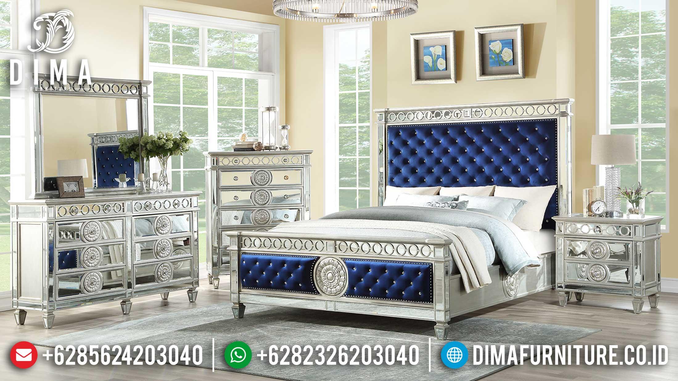 Elizabeth Tempat Tidur Minimalis Modern Royal Style Luxury Glassed Design TTJ-1128