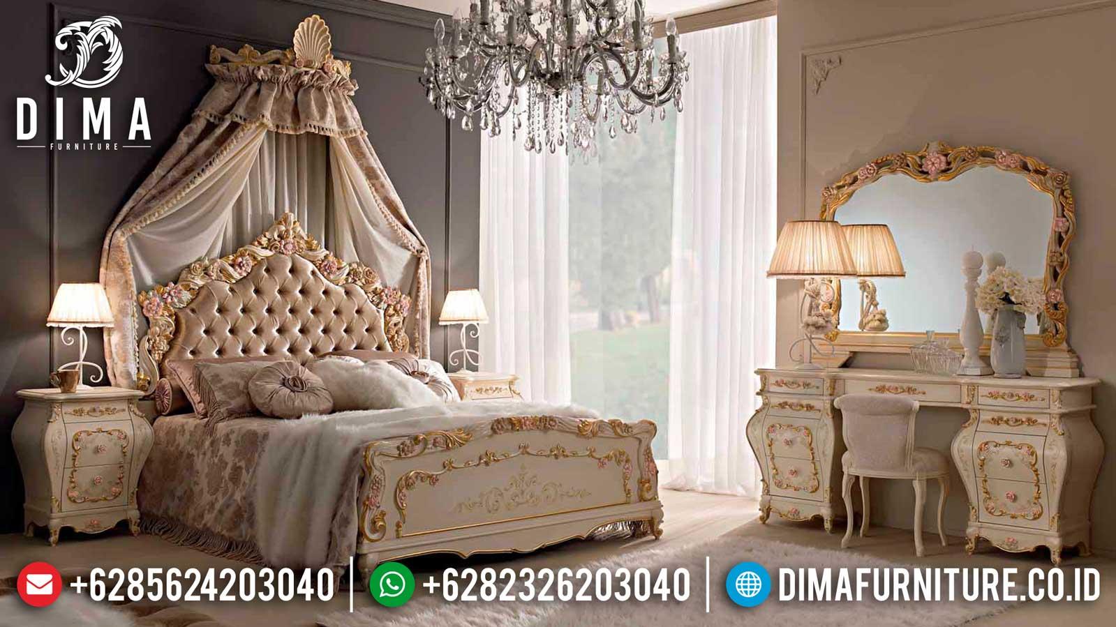 Harga Kamar Set Ukiran Mewah New Furniture Jepara Best Product Quality TTJ-1108