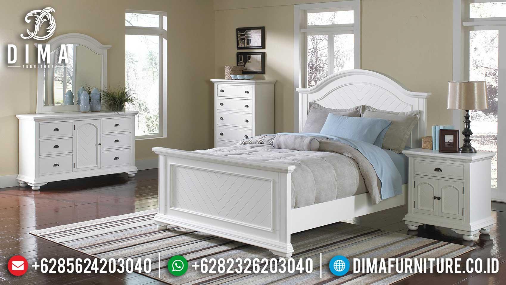 Harga Tempat Tidur Minimalis Putih Duco New Year Edition Item TTJ-1125
