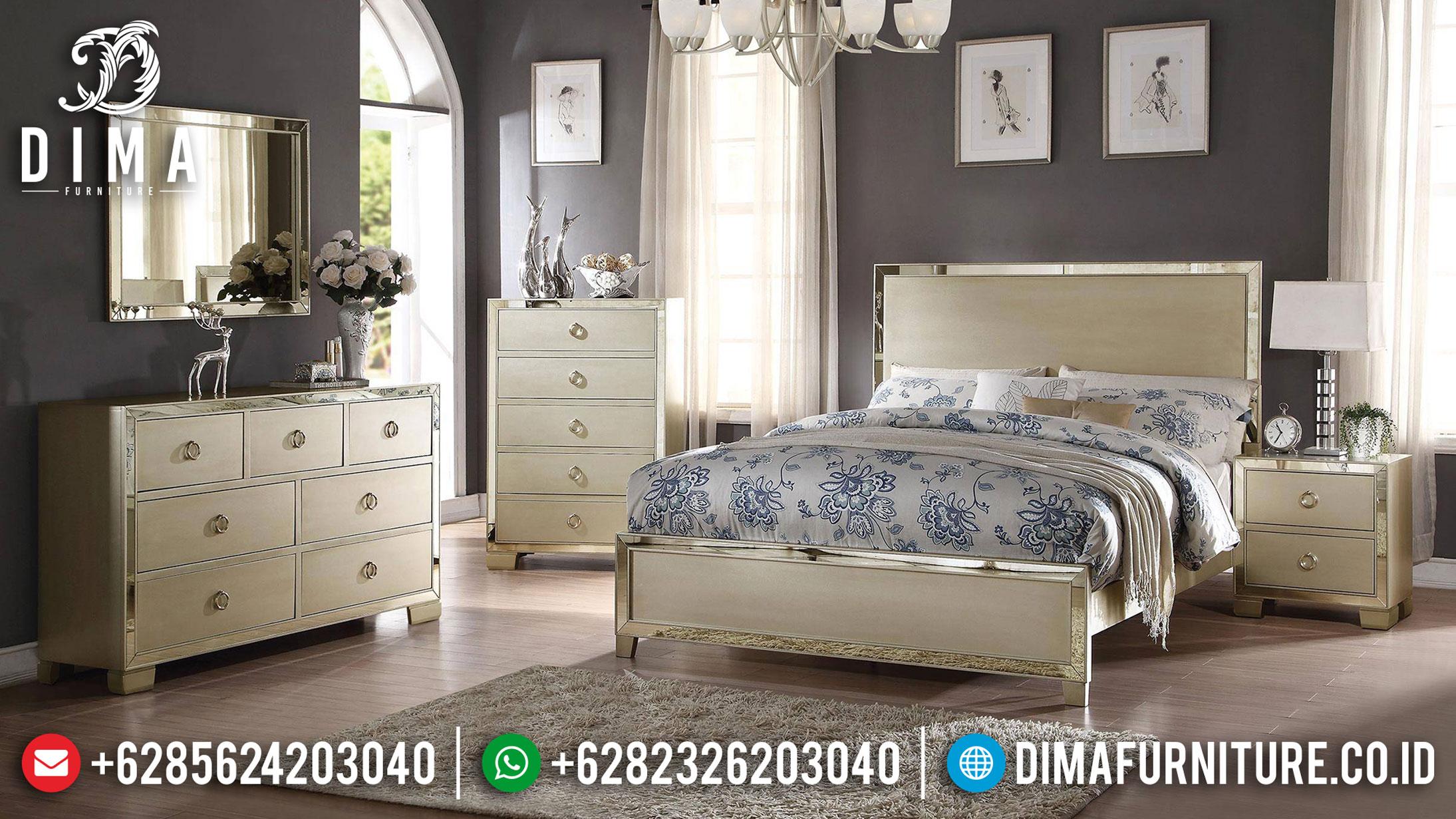 Kamar Set Minimalis Modern Terbaru Elegant Design Furniture Jepara TTJ-1103