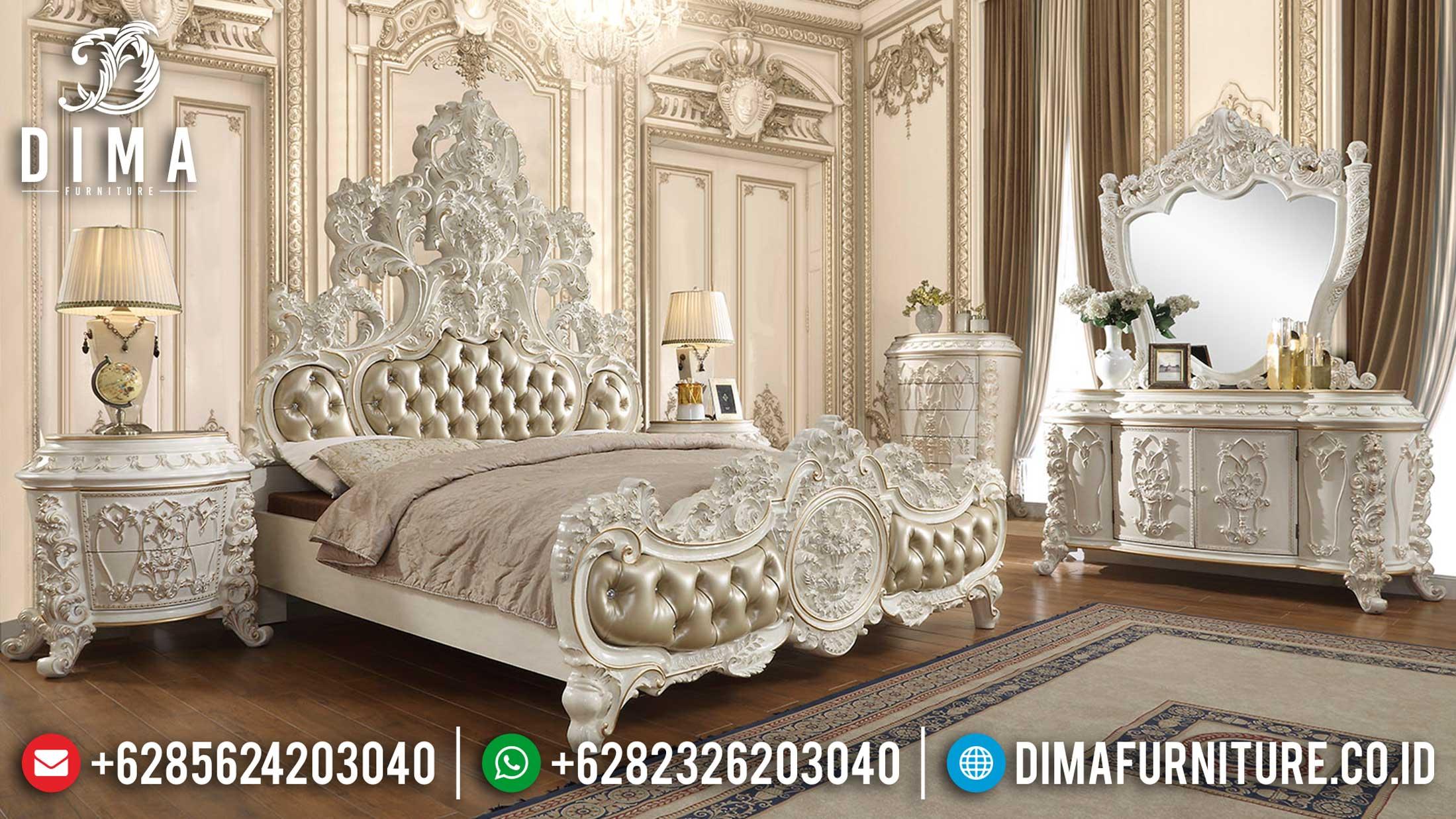 Kingsroom Kamar Set Mewah Ukiran Jepara Superior Taste Interior TTJ-1134