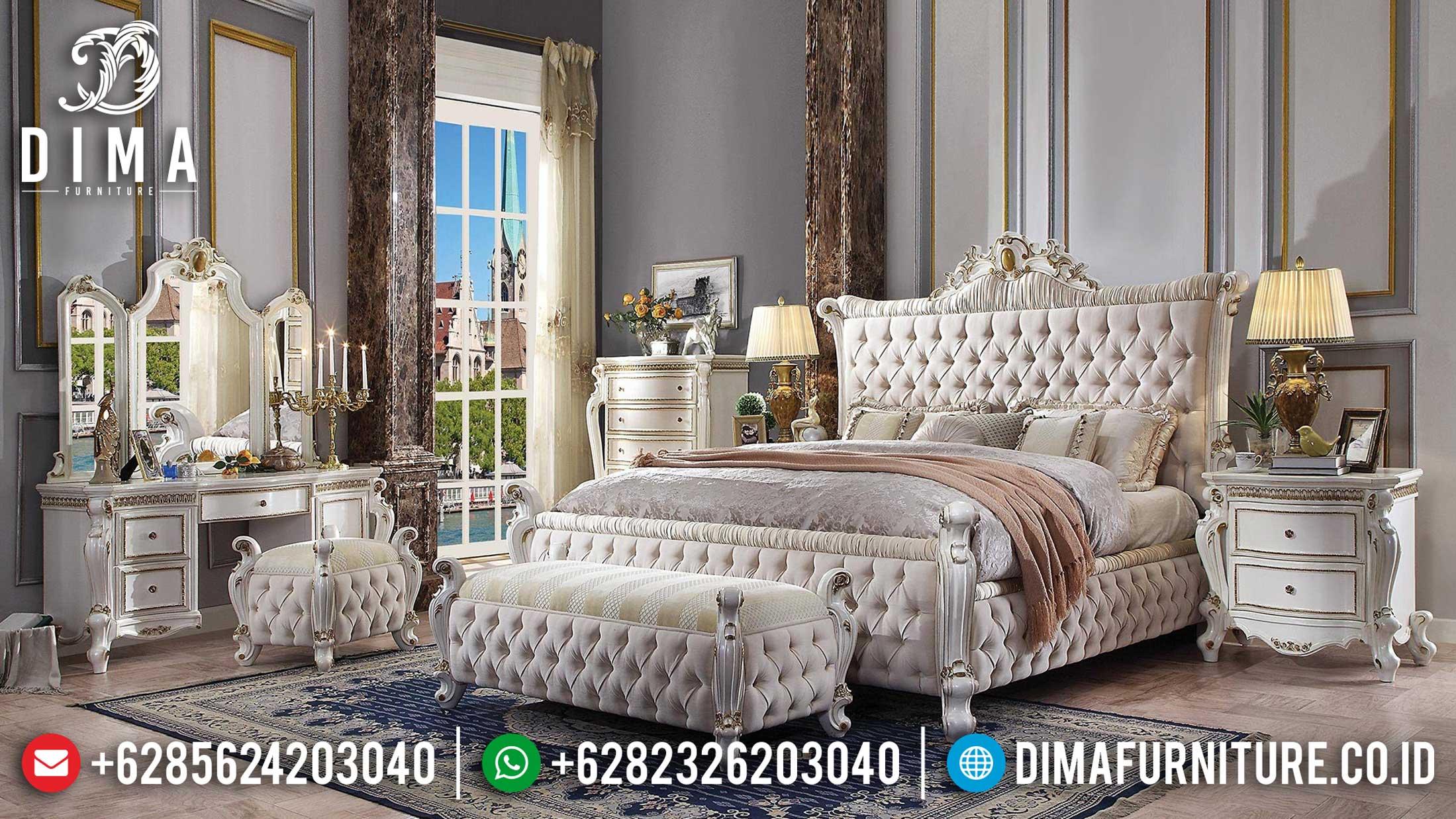 New Kamar Set Mewah Ukiran Jepara Xavier Glorious Style Mebel Jepara TTJ-1111