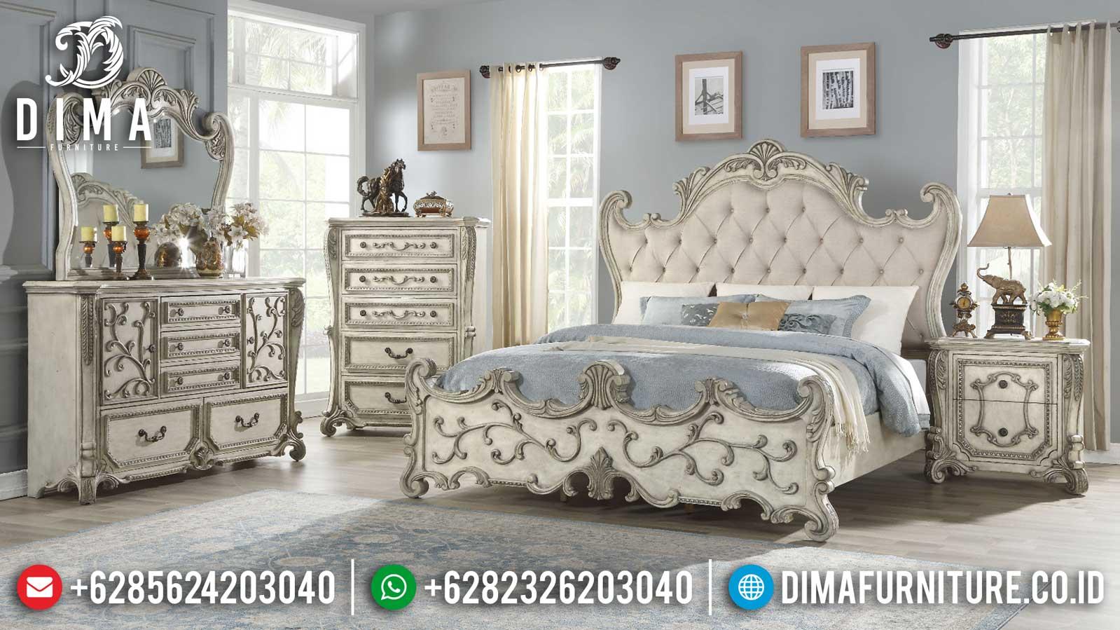 New Kamar Set Mewah Ukiran Klasik Jepara Luxury Royal Furniture TTJ-1133