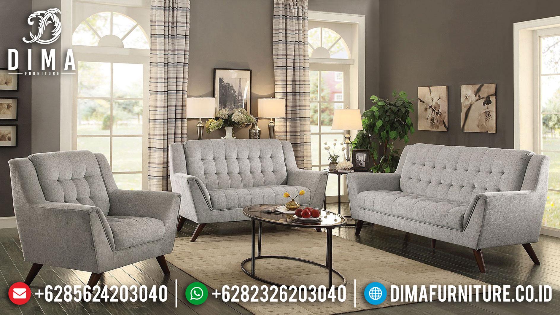 Set Sofa Tamu Jepara Desain Minimalis New Sand Color Mebel Jepara Murah TTJ-0994