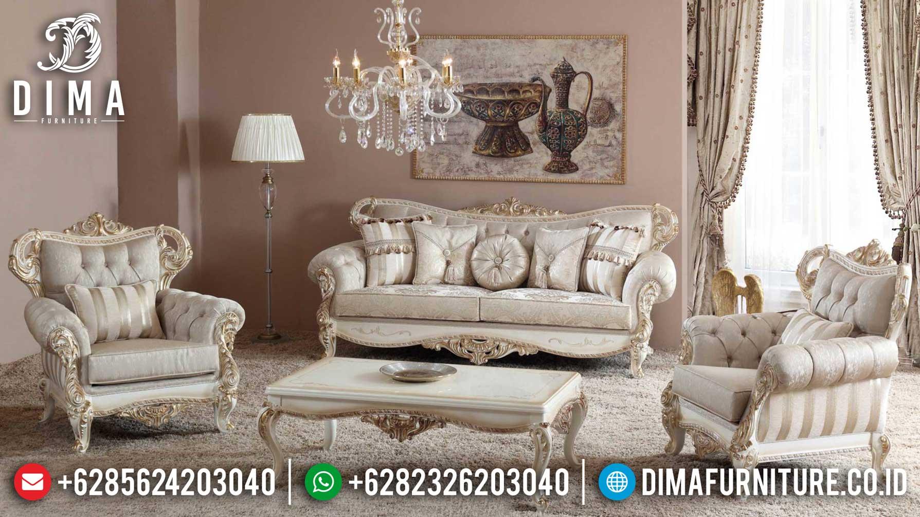 Get Sale Today Sofa Tamu Mewah Ukiran Klasik Luxury Best Product Seller TTJ-1248