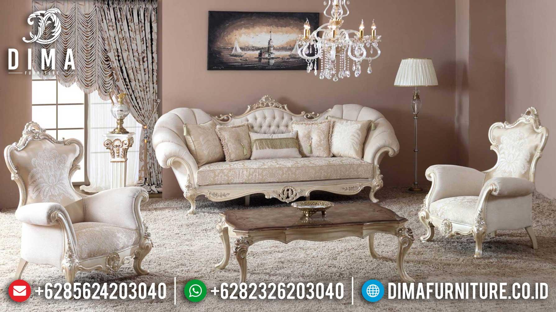 Hilarious Set Sofa Tamu Mewah Royal Classic Luxury Furniture Jepara Terbaru TTJ-1250