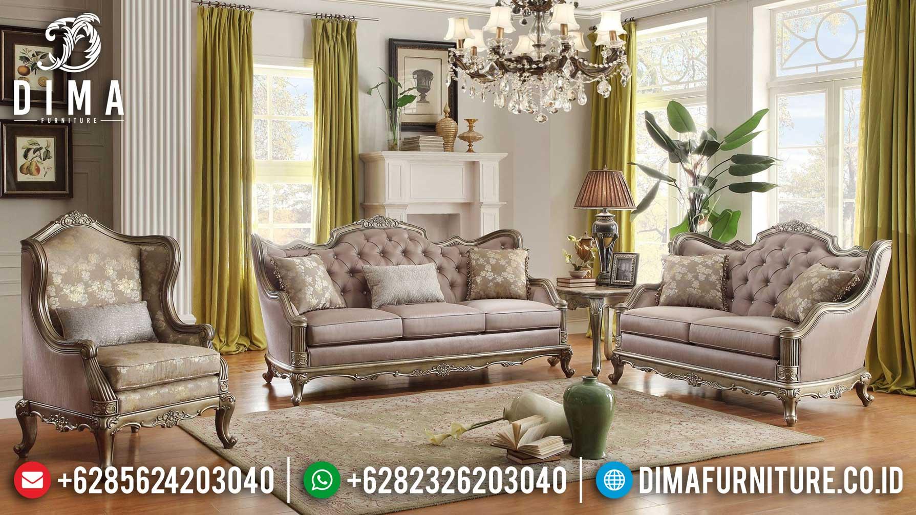 Inspiring Design Sofa Tamu Mewah Jepara Luxury Royal Carving Great Quality TTJ-1238