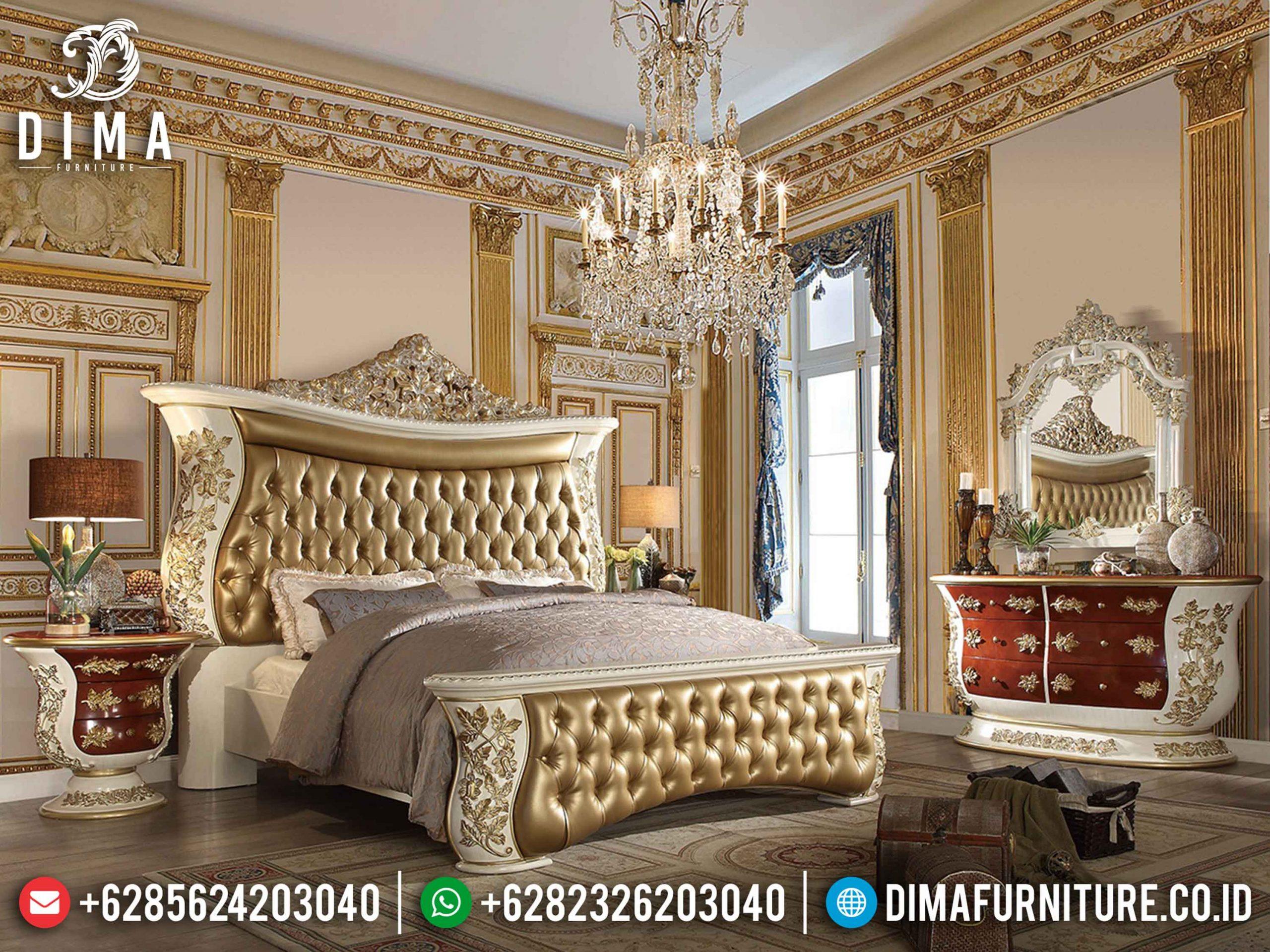 Interior Design Classic Kamar Set Mewah Ukir Jepara Luxury Europan Style TTJ-1151